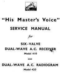 Manual de servicio HMV 420