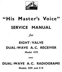 manuel de réparation HMV 519