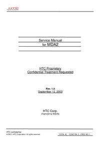 Manual de servicio HTC MDA2