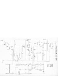 Cirquit Diagram Hagenuk Nordmark 127GW