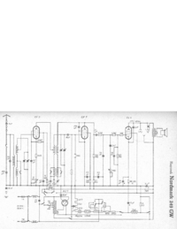 Cirquit Diagram Hagenuk Nordmark 249GW
