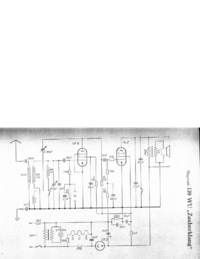Schaltplan Hagenuk 139 WU Zauberklang