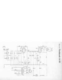 Schaltplan Hagenuk Nordmark 128 W