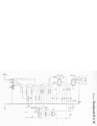 Schaltplan Hagenuk Nordmark B 21 W