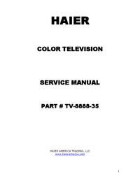 Service Manual Haier 46EP14S SERIES