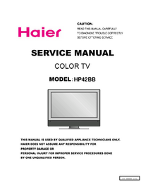 Haier-2968-Manual-Page-1-Picture