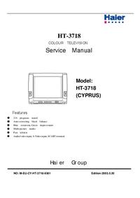 Manual de servicio Haier HT-3718 (CYPRUS)