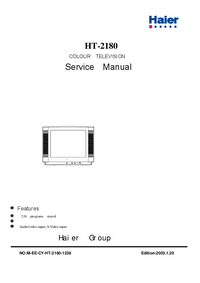 Service Manual Haier HT-2180