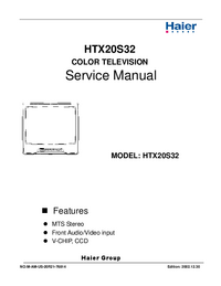 Service Manual Haier HTX20S32