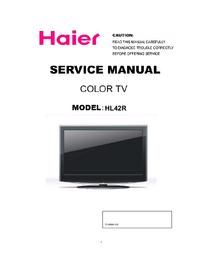 Service Manual Haier HL42R