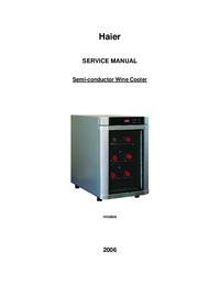 Manual de servicio Haier HVUE06