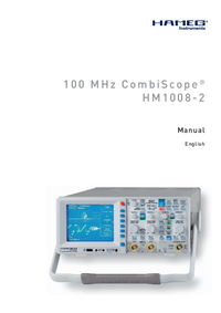 Hameg-142-Manual-Page-1-Picture