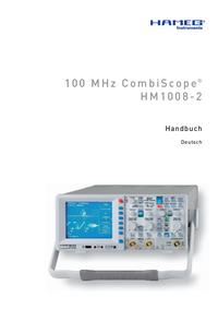 Serviceanleitung Hameg HM1008-2