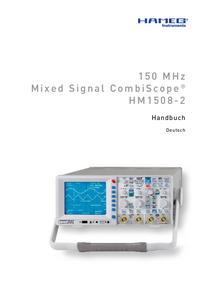 Manual do Usuário Hameg HM1508-2