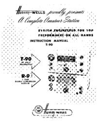 Обслуживание и Руководство пользователя Harvwels T-90