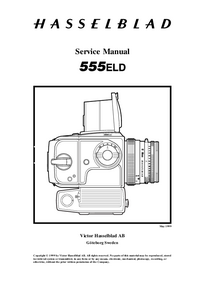 Service Manual Hasselblad 555ELD