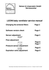 manuel de réparation HeinenLöwenstein Leoni