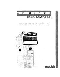 Servizio e manuale utente Henry 4K Ultra
