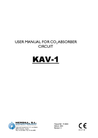 User Manual Hersill KAV-1