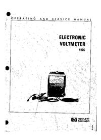 Service-en gebruikershandleiding HewlettPackard 410C