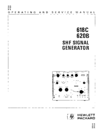 Serwis i User Manual HewlettPackard 620B