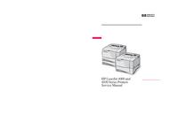 Service Manual HewlettPackard LaserJet 4050