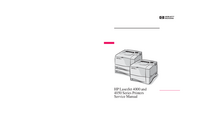 Servicehandboek HewlettPackard LaserJet 4000