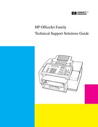 Servicehandboek HewlettPackard OfficeJet