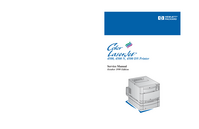 Service Manual HewlettPackard Color LaserJet 4500 N