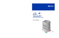 Manuale di servizio HewlettPackard Color LaserJet 8500