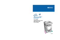 Manual de servicio HewlettPackard Color LaserJet 8550 Series