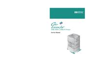 Manuale di servizio HewlettPackard Color LaserJet 8500 N