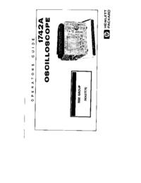 Manuale d'uso HewlettPackard 1742A