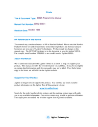HewlettPackard-3704-Manual-Page-1-Picture