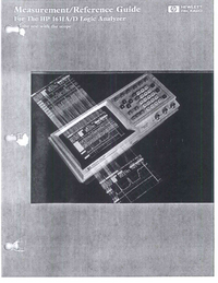 User Manual HewlettPackard 1631A