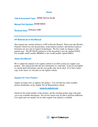 HewlettPackard-4898-Manual-Page-1-Picture