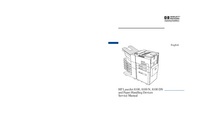 Manual de servicio HewlettPackard LaserJet 8100 N