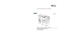 Servicehandboek HewlettPackard LaserJet 8100