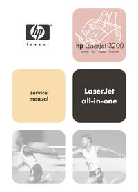 Instrukcja serwisowa HewlettPackard LaserJet 3200