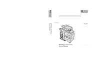 Manual de serviço HewlettPackard Mopier 320 System