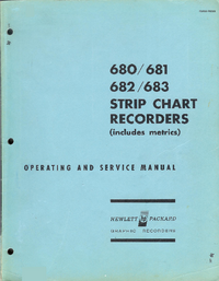 Servicio y Manual del usuario HewlettPackard 680