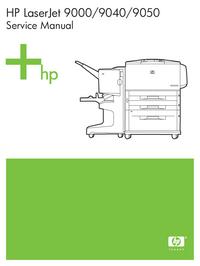 Instrukcja serwisowa HewlettPackard LaserJet 9000