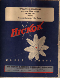 Hickok-3867-Manual-Page-1-Picture