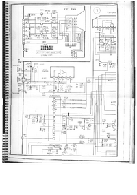 Cirquit Diagramma Hitachi CPT-1420R