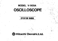 Bedienungsanleitung Hitachi V-1100A