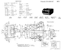 Schema Hitachi CS-1050