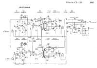 Servicehandboek, Schema alleen Hitachi CS-113