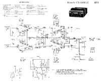 Cirquit Diagram Hitachi CS-1400