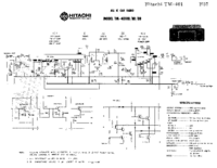Service Manual Hitachi TM-401RB