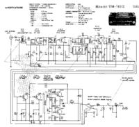 Cirquit Diagram Hitachi TM-702E